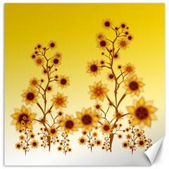 Sunflower Cheers Canvas 20  X 20  (unframed)