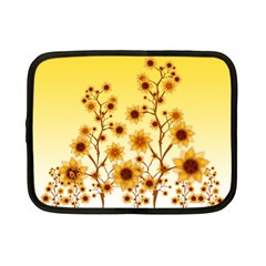 Sunflower Cheers Netbook Case (Small)