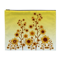 Sunflower Cheers Cosmetic Bag (XL)