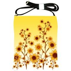 Sunflower Cheers Shoulder Sling Bag