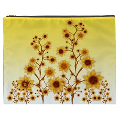 Sunflower Cheers Cosmetic Bag (XXXL)