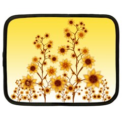 Sunflower Cheers Netbook Case (Large)