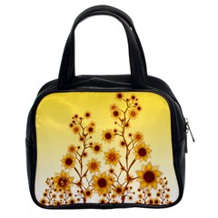 Sunflower Cheers Classic Handbag (two Sides)