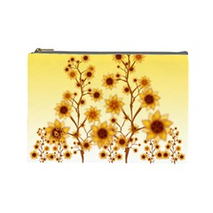 Sunflower Cheers Cosmetic Bag (Large)