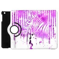 The Hidden Zebra Apple Ipad Mini Flip 360 Case