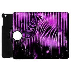 The Hidden Zebra Apple iPad Mini Flip 360 Case