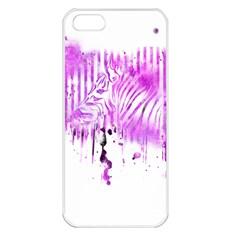 The Hidden Zebra Apple iPhone 5 Seamless Case (White)