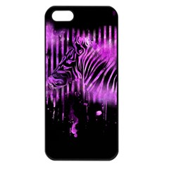 The Hidden Zebra Apple iPhone 5 Seamless Case (Black)