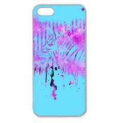 The Hidden Zebra Apple Seamless iPhone 5 Case (Clear)