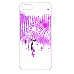 The Hidden Zebra Apple iPhone 5 Seamless Case (White)