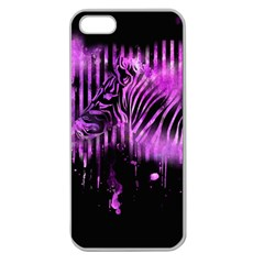 The Hidden Zebra Apple Seamless iPhone 5 Case (Clear)