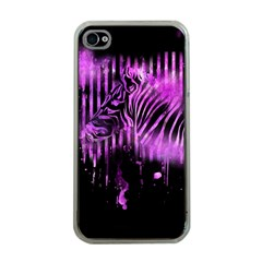 The Hidden Zebra Apple Iphone 4 Case (clear)