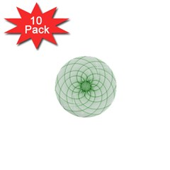 Spirograph 1  Mini Button (10 pack)
