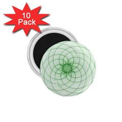 Spirograph 1.75  Button Magnet (10 pack)