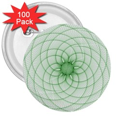 Spirograph 3  Button (100 pack)