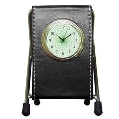 Spirograph Stationery Holder Clock