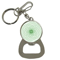Spirograph Bottle Opener Key Chain