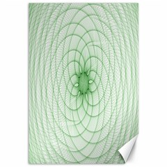 Spirograph Canvas 12  x 18  (Unframed)