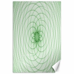 Spirograph Canvas 24  x 36  (Unframed)