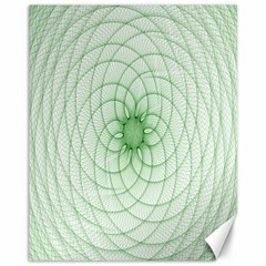 Spirograph Canvas 11  x 14  (Unframed)