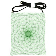 Spirograph Shoulder Sling Bag