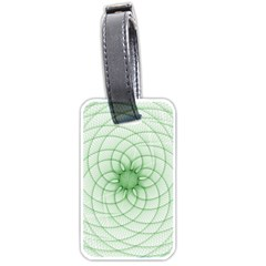 Spirograph Luggage Tag (Two Sides)