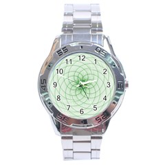 Spirograph Stainless Steel Watch (Men s)