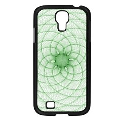 Spirograph Samsung Galaxy S4 I9500/ I9505 Case (Black)