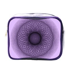 Mandala Mini Travel Toiletry Bag (One Side)
