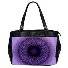 Mandala Oversize Office Handbag (One Side)