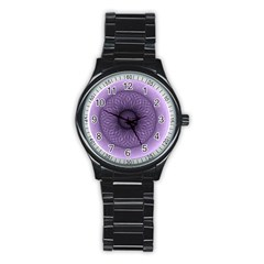 Mandala Sport Metal Watch (black)