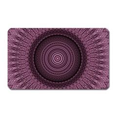 Mandala Magnet (rectangular)