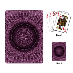 Mandala Playing Cards Single Design