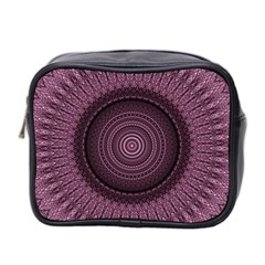 Mandala Mini Travel Toiletry Bag (two Sides)
