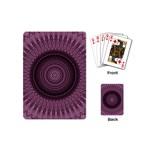 Mandala Playing Cards (Mini) Back