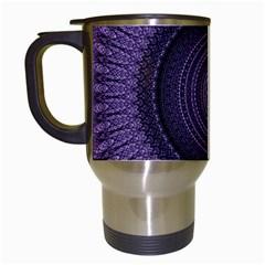 Mandala Travel Mug (White)