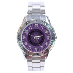 Mandala Stainless Steel Watch (men s)