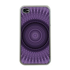 Mandala Apple iPhone 4 Case (Clear)
