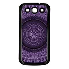 Mandala Samsung Galaxy S3 Back Case (Black)