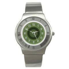 Mandala Stainless Steel Watch (Unisex)