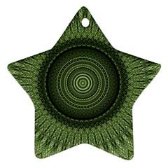 Mandala Star Ornament (two Sides)
