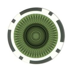 Mandala Poker Chip
