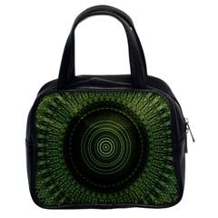 Mandala Classic Handbag (two Sides)
