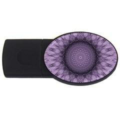 Mandala 4gb Usb Flash Drive (oval)