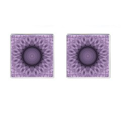 Mandala Cufflinks (Square)