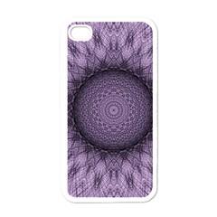 Mandala Apple Iphone 4 Case (white)