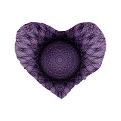 Mandala 16  Premium Heart Shape Cushion