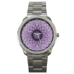 Mandala Sport Metal Watch
