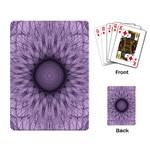 Mandala Playing Cards Single Design Back