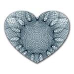 Mandala Mouse Pad (Heart) Front